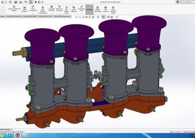 Individual throttle bodies (ITB) VAZ (LADA) 2108