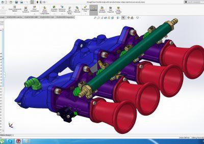 Individual throttle bodies (ITB) VAZ (LADA) 2101 to 2107