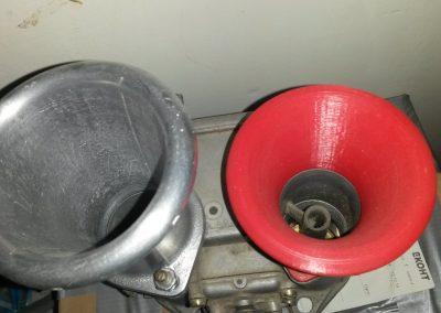 DCOE and printed velocity stack