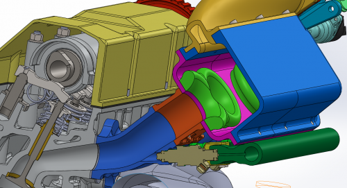 Other style of velocity stacks used in intake manifolds