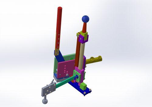 Lada gear lever and handbrake