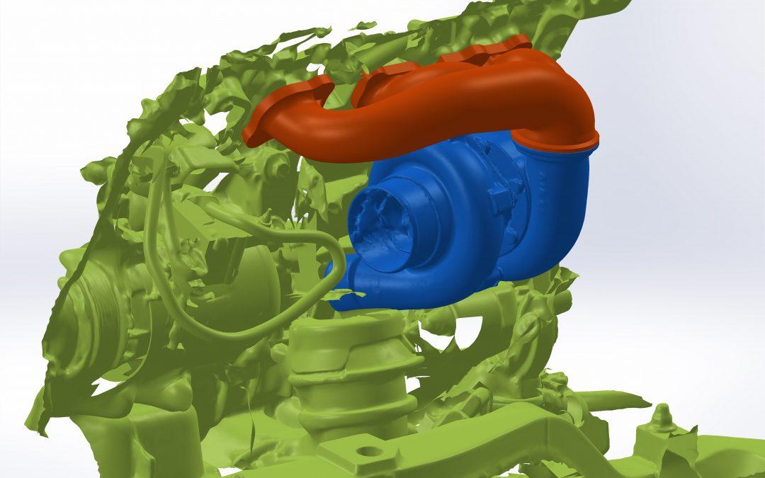 Twin turbo 370Z manifolds development